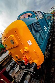 37109 Diesel locomotive,wansford station..