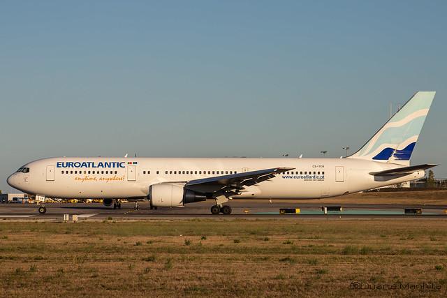 EuroAtlantic Airways / Boeing 767-300 / CS-TKR