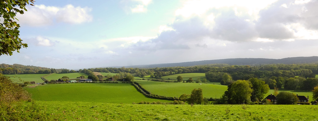 The Surrey Hills Area of Outstanding Natural Beauty (AONB)