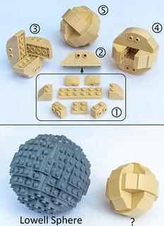 LEGO spheres