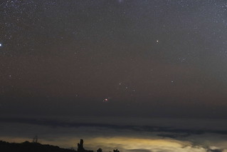 Orion Setting at 8,000ft