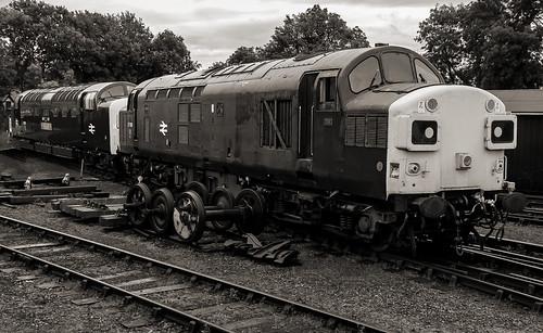 Two in sidings..