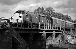 In over the wansford bridge..