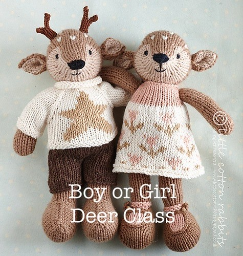 Register to learn how to make Boy or Girl Deer!
