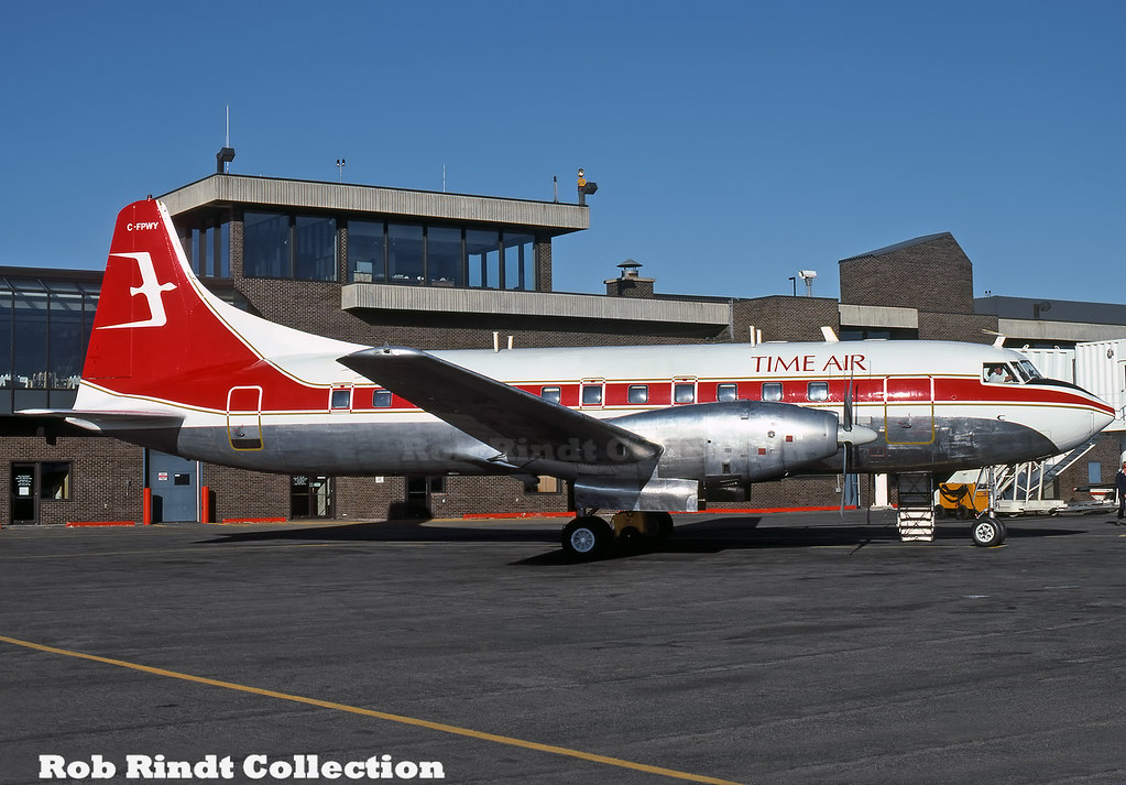 Time Air Convair 640 C-FPWY