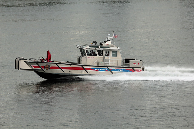 Vancouver Fireboat Discovery
