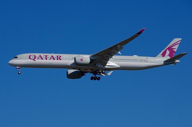 A7-ANC A.350-10 Qatar Airways