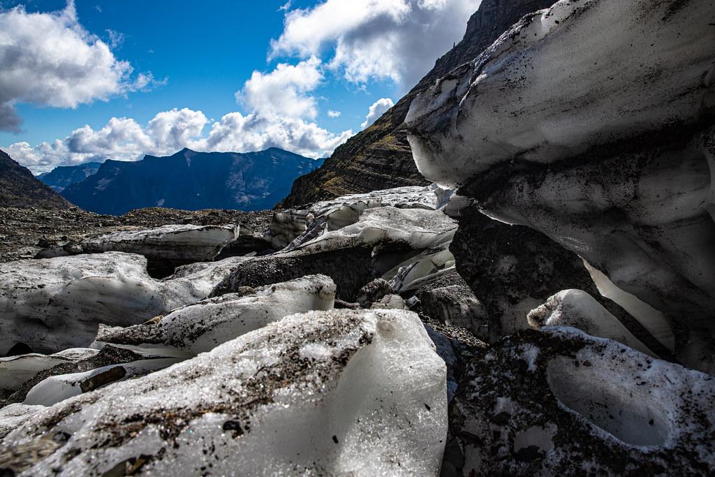 Sexton Glacier Ice