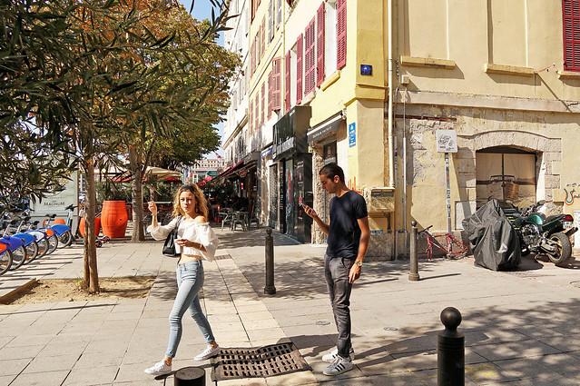 Rue Saint-Saëns - Marseille (France)