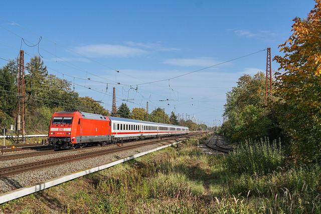 101 092 DB Fernverkehr AG   Leipzig-Wiederitzsch   Oktober 2019