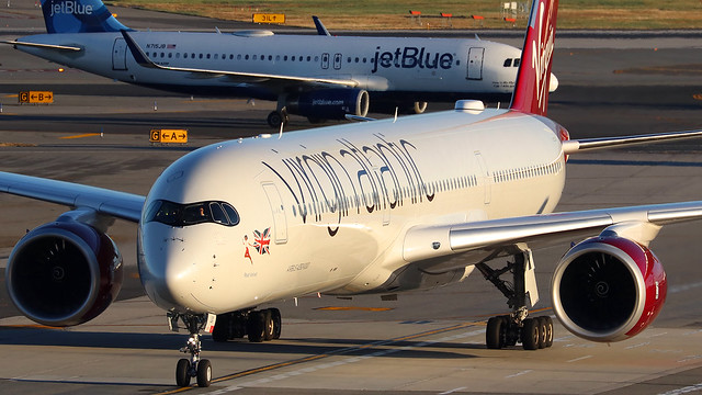 G-VLUX | Airbus A350-1041 | Virgin Atlantic