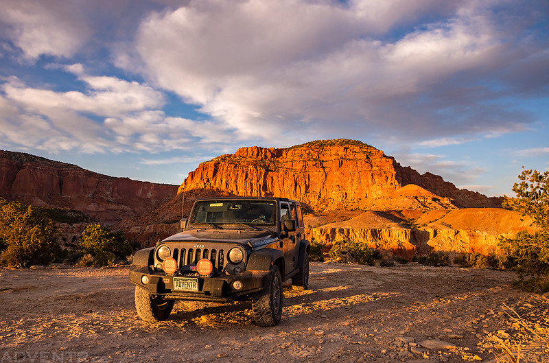 ADVENTR Jeep Sunset