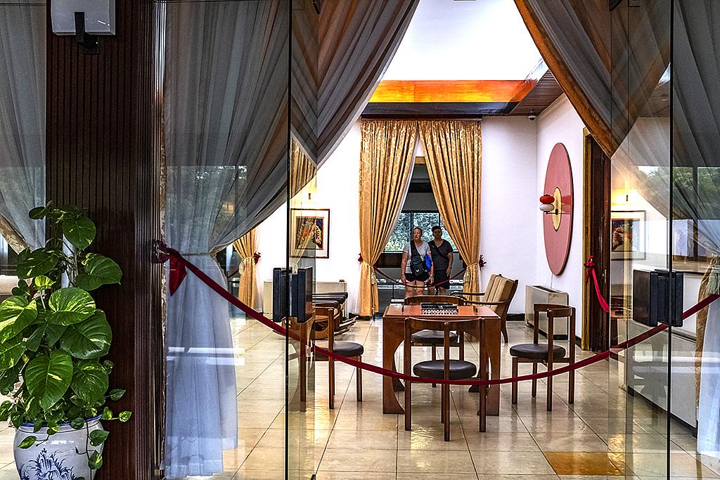 Rec room at South Vietnamese Presidential Palace--Saigon 2