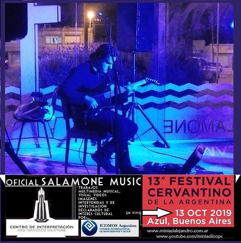 F. SALAMONE MUSICA OFICIAL EN EL FEST.CERVANTINO Azul Ciudad