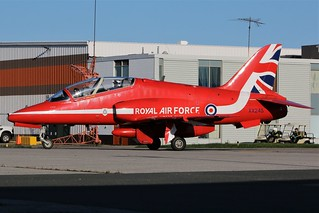 Raf Red Arrows Demonstration Squadron XX245