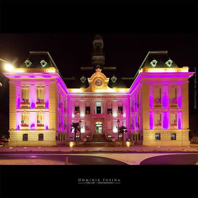 Octobre Rose - Hotel de Ville de Villefranche