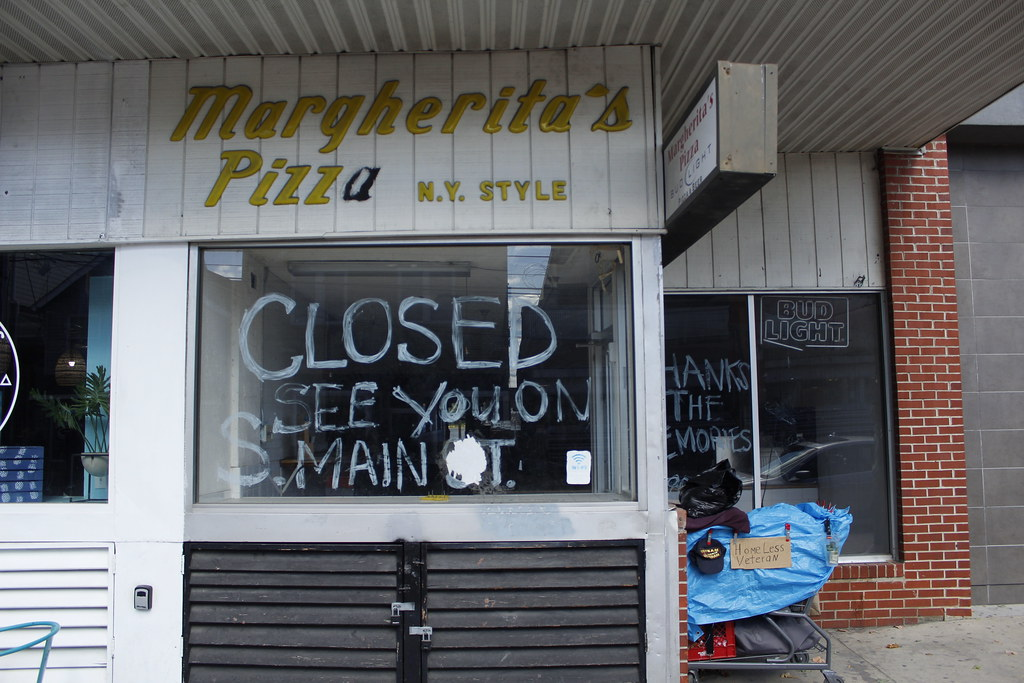Newark's Main Street has seen a recent string of small business closures