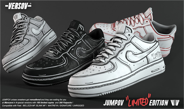[ Versov // ] Jumpov LIMITED EDITION sneakers available at MAN CAVE
