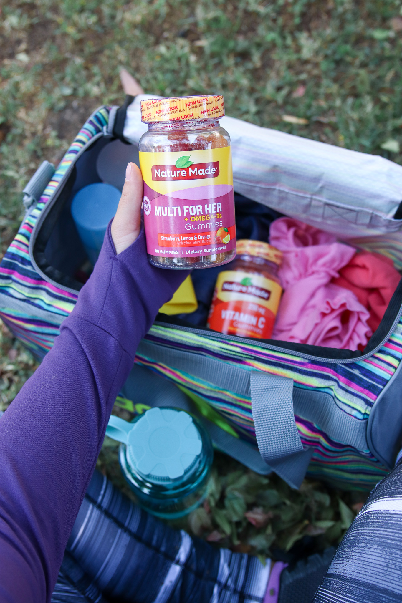 What to Carry in a Gym Bag for Mothers with Toddlers