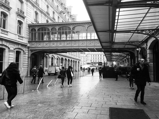 Saint-Lazare après la pluie