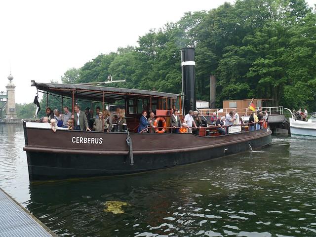 Schiffshebewerk Henrichenburg 071 Polizei- und Feuerlöschboot Cerberus
