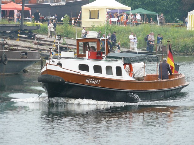 Schiffshebewerk Henrichenburg 067 Dieselbarkasse Herbert