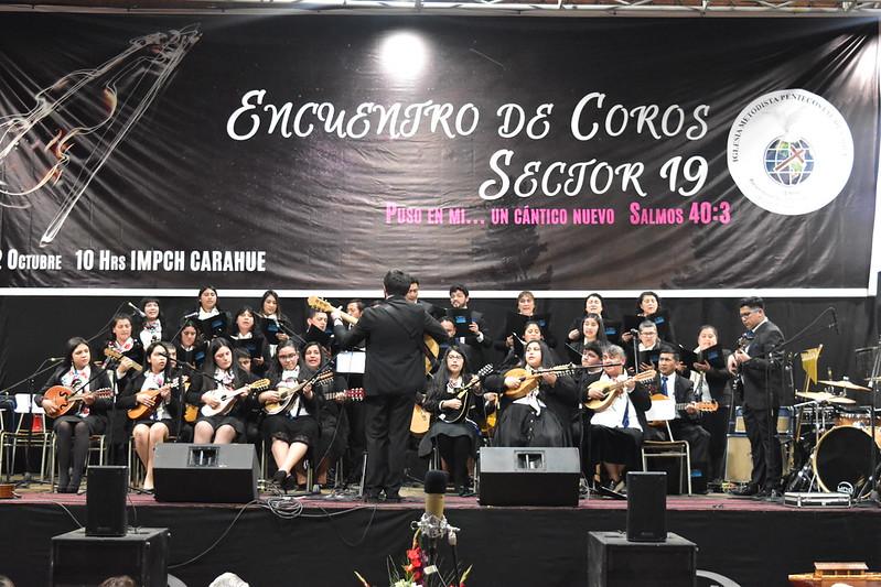 Encuentro de Coros Sector 19 en Carahue