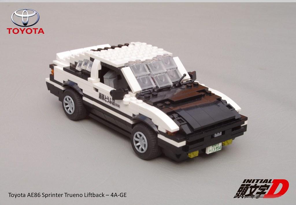 Initial D - Toyota AE86 Trueno Sprinter