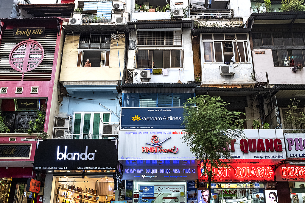 Across the street from Ben Thanh Market--Saigon