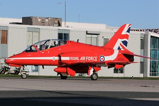 Raf Red Arrows Demonstration Squadron XX232