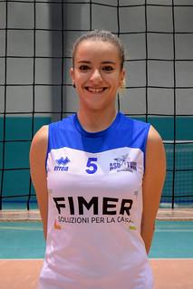 Il capitano Ivana Cazzetta