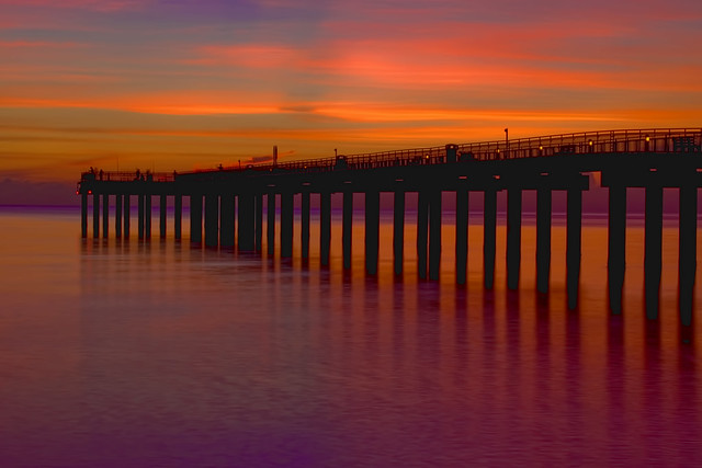Newport Fishing Pier, 16501 Collins Avenue, Sunny Isles Beach, Florida, USA
