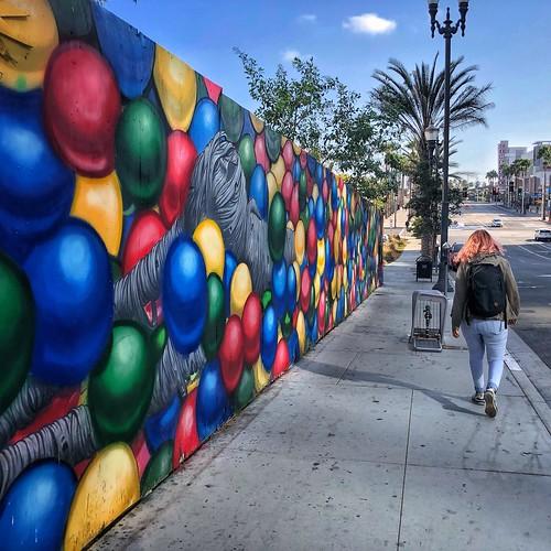 Mural in color