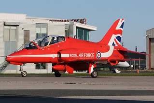 Raf Red Arrows Demonstration Squadron XX242