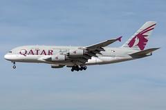 A7-APC Qatar Airways Airbus A380-861