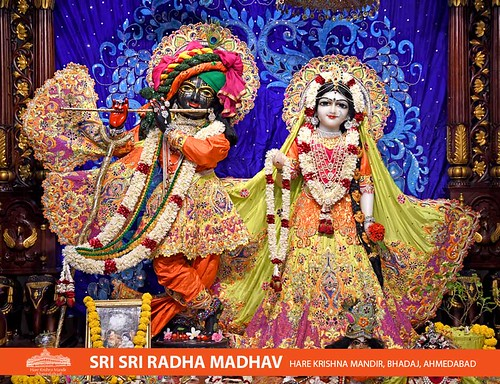 Hare Krishna Temple Ahmedabad Deity Darshan 19 Oct 2019