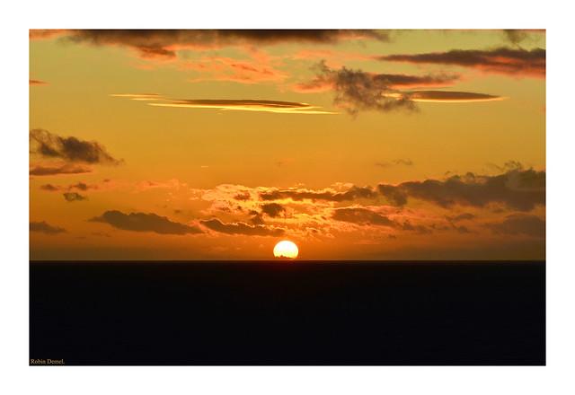 Winter Sunset. 19