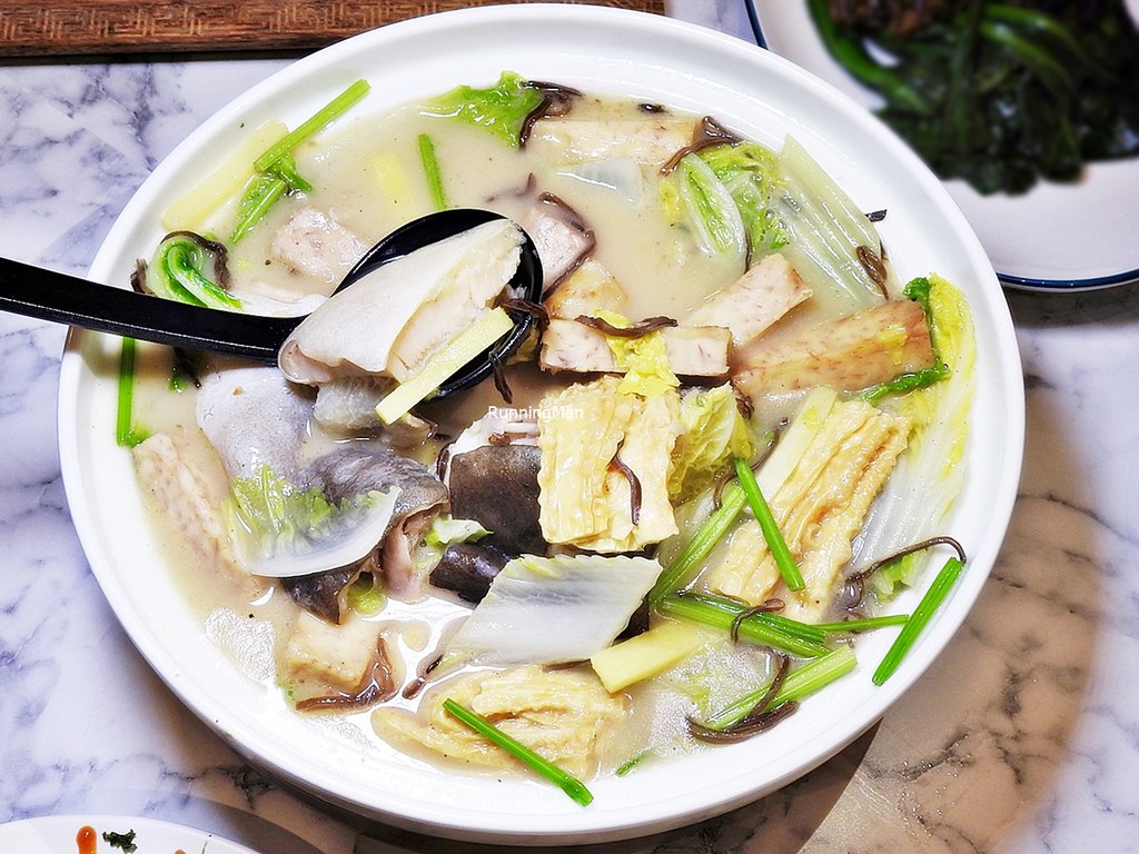 Poached Patin Fish Soup With Chinese Wine
