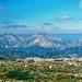 Landscape in Crete, Greece.