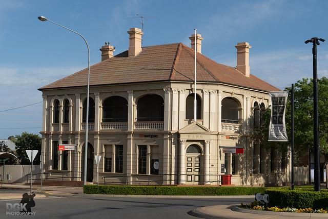 Westpac bank at Temora, NSW