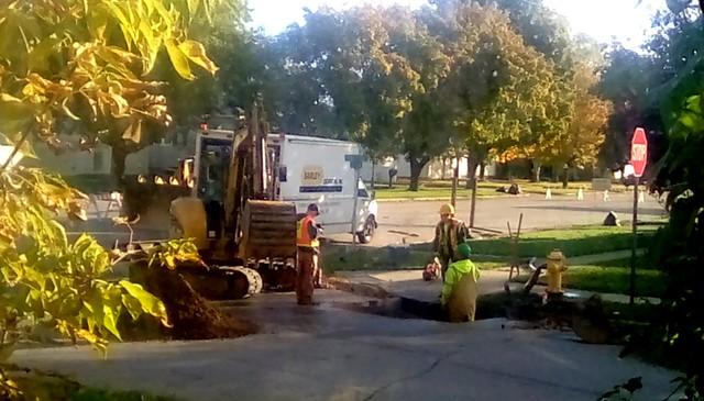 Water line repair - HTT Menominee Michigan