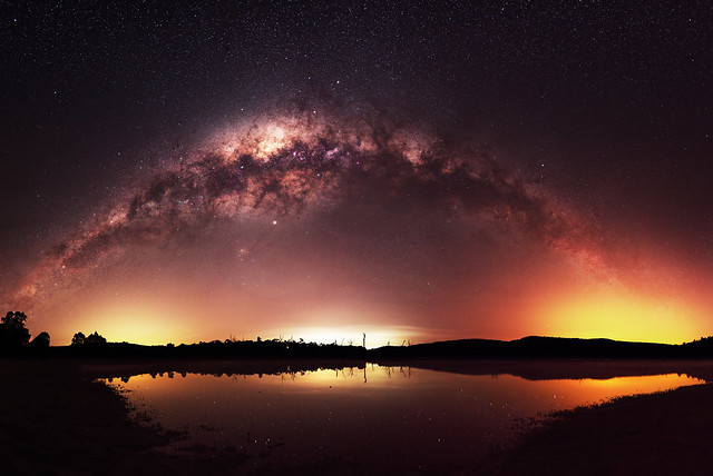 Milky Way at Harvey Dam, Western Australia