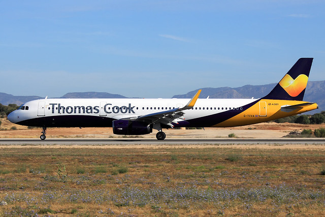 Thomas Cook Airlines  Airbus A321-231 G-TCVA