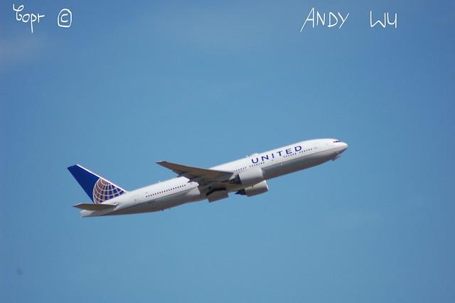 Boeing 777-200ER United Airlines (07/09/2019)