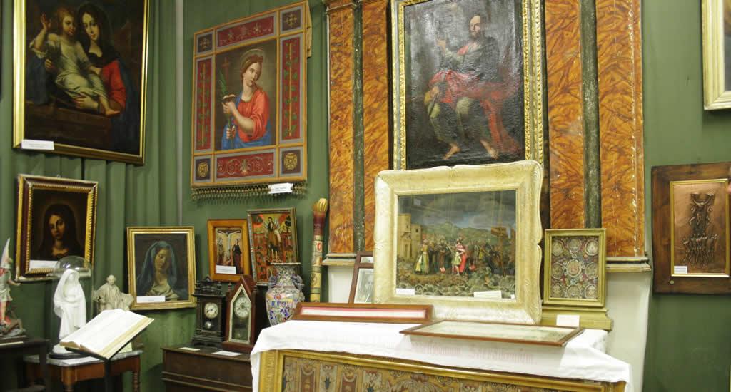 Bezienswaardigheden Rabat | Museum bij St. Agathas Catacomben, Rabat