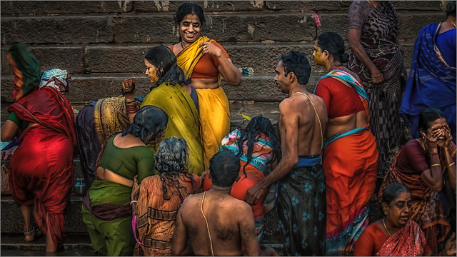Morning Rituals at the Ganges River #7