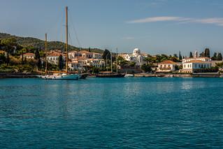 Island anchorage.....