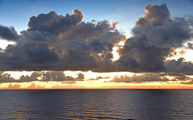 Morning Clouds - Mustang Island