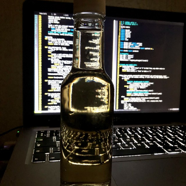 Do not code and drink...