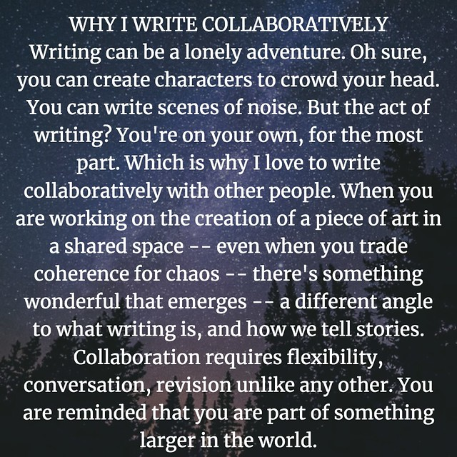Why I Write Collaboratively
